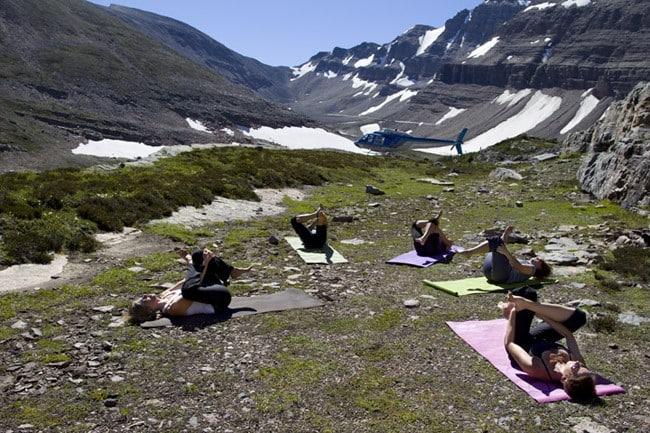 heli-yoga